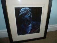 ERIC CLAPTON PORTRAIT LIMITED EDITION 68/500 MADE