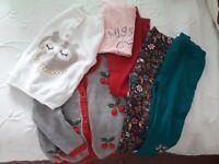 1.5 - 2yrs girls clothes bundle (6 items)