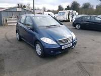 Mercedes Benz A class 1.5L classic 2005 new shape low mileage 1 year mot service history