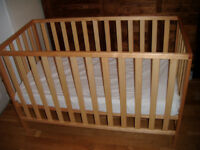 MotherCare Baby Cot Solid Wood