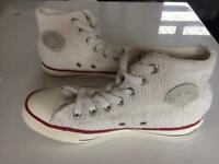 Converse all star boots limited edition size 4