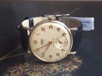Very rare vintage 9ct 9k solid 375 gold Smiths Everest mens watch