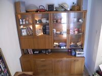 Spacious dresser/cabinet for living or dining room