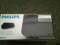Philips bluetooth wireless speaker sbt300 boxed