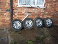vw van steel wheels