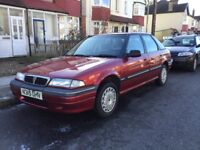 Classic Rover 214 SLi For Sale. Runs. Restoration Project ONLY 114 MILES VELOUR INTERIOR