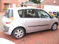 Renault megane scenic dynamique 05reg mot 1yr £595(Kilmarnock)MPV