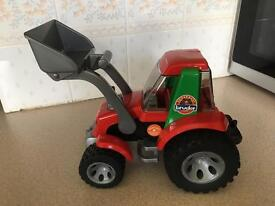 BRUDER roadmax tractor with loader