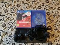 No offers Ps4 500gb fully working with original controller and 2 games