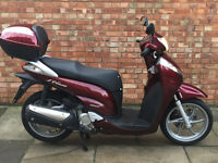 Honda SH 300 ABS with ONLY 168 miles on the clock