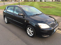 2002 Toyota Corolla 1.6 VVTi T SPIRIT BLACK 5 DOOR DRIVES PERFECT FOCUS GOLF A3 JAZZ ASTRA CIVIC