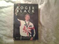 "Hardback Book, ROGER BLACK "" HOW LONG'S THE COURSE - MY AUTOBIOGRAPHY""."