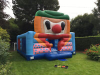 Bouncy castle and inflator for sale, £200.