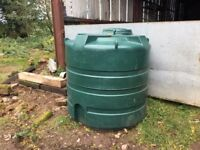 2500ltr oil storage tank