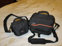 2x dslr camera bags