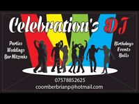 DJ SERVICE IN STAFFORDSHIRE Celebrations DJ Mobile Disco. 50' 60' 70' 80 '& 90's and current