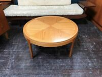 Sunburst Coffee Table by Stonehill. Retro Vintage Mid Century