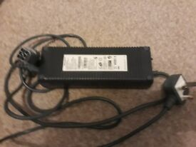 Xbox 360 Full power supply unit/power brick PSU with leads - Genuine original UK