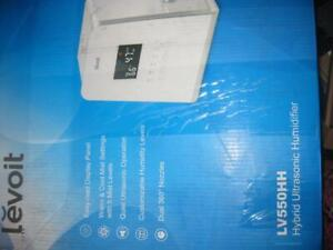LEVOIT Humidifier, 5.5L Warm and Cool Mist Ultrasonic Operation for Bedroom Baby, Vaporizer. Remote,. LED Touch Display