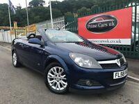 2009 (58 reg) Vauxhall Astra 1.8 i Sport Twin Top 2dr Convertible 5 Speed Manual Petrol