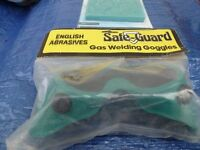 Safe Guard Gas Welding Goggles & Silverline Lens Covers Auto Darkening - Unused
