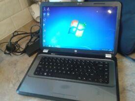 LAPTOP HP G6 DUAL CORE ,GWO.HDMI,WEBCAM,4GB RAM.500GB HD,WINDOWS 7/OFFICE 2010,CHARGER,CASE