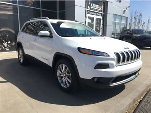 2016 Jeep Cherokee Limited|Leather|Remote Start| 4X4 |Navigation