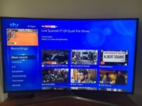 "Samsung UHD 4K Curved 48"" TV"