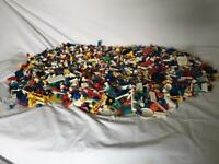 Lego bundle brick pieces mix vintage/newer collection luton