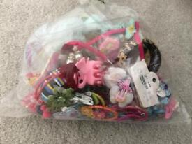 Assorted pins and clips