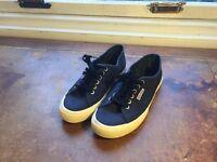 Surperga Navy shoes SIZE: UK 9, US 10, EU 43