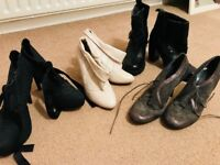 Four stunning pairs of Boots size 6