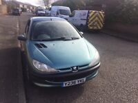 Peugeot 206 1.1 Petrol with MOT 10/2017 VGC (2 keys) £495