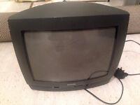PHILIP BLACK 14 INCH TV FOR SALE
