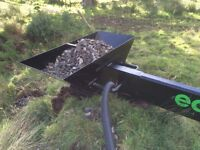 Plough mole drainage **FAST**with pipe and stones