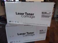 2 x Laser Toner Cartridges B2120 Black
