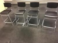 5 IKEA STACKABLE STIG CHAIRS/ STOOLS. Free delivery!!!
