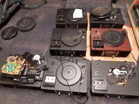 Job Lot x7 TEAC LP-R500/ USB Audio Shelf System CD Recorder/Turntables