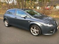 SEAT LEON 2.0 TFSI FR 2008 08 SAT NAV HEATED SEATS CLIMATE CONTROL* HELP TO BUY FINANCE* AUDI A3 S3