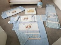 Next Little Puppy Nursery set including curtains & Picture