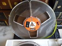 fourty four 5 inch tape recorder tapes with lovely double sided tape albums,£5.each.all lot for £155