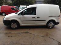 09 PLATE VW VOLKSWAGEN CADDY 2.0 SDI PD 86000MILES FSH £4600 PLUS VAT