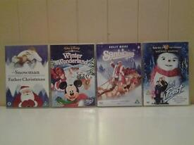 "FOUR (4) FAMILY ""CHRISTMAS"" DVD'S"