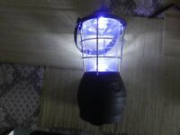 Dynamo wind-up camping/festival light + emergency charger for phones etc
