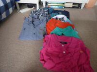 Mens Xtra Small Clothes Bundle, 11 Items.