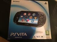 Ps vita 3G and WiFi in good condition