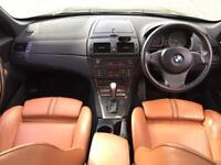 2006 BMW X3 3.0I PETROL AUTOMATIC PANO ROOF LOW MILES GREEN WITH FULL LEATHER WARRANTY PART EXCHANGE