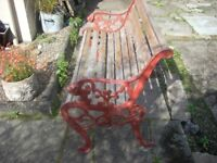 LIONS HEADS (cast) ENDED BENCH 6FT £75