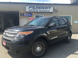 2013 Ford Explorer 1 OWNER-7 PASS THIRD ROW SEATING-DUAL AIR/HEA