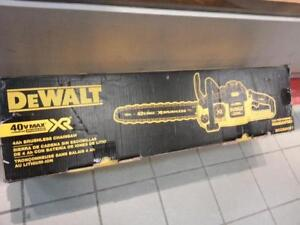 Dewalt Brushless Chainsaw. We sell used outdoor tools. (48567)
